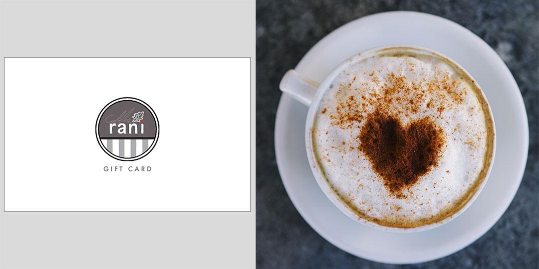 Coffee Rani gift card